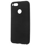 Силиконовый чехол SlimCase для Xiaomi Mi 5x (Mi A1) black, фото 2