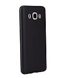 Силиконовый чехол SlimCase для Samsung Galaxy J5 2016/J510 black, фото 4