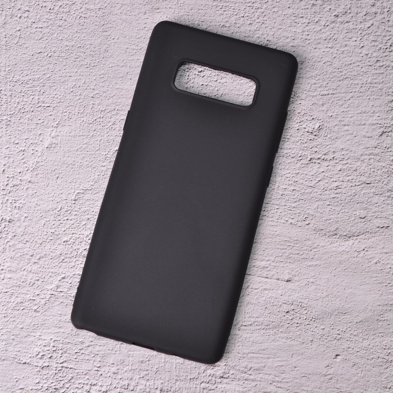 Силиконовый чехол SlimCase для Samsung Galaxy Note 8/N950 black