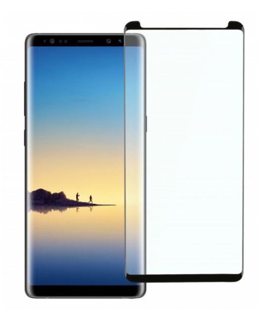 Защитное стекло 5D Future Full Glue для Samsung Galaxy Note 8/N950 black