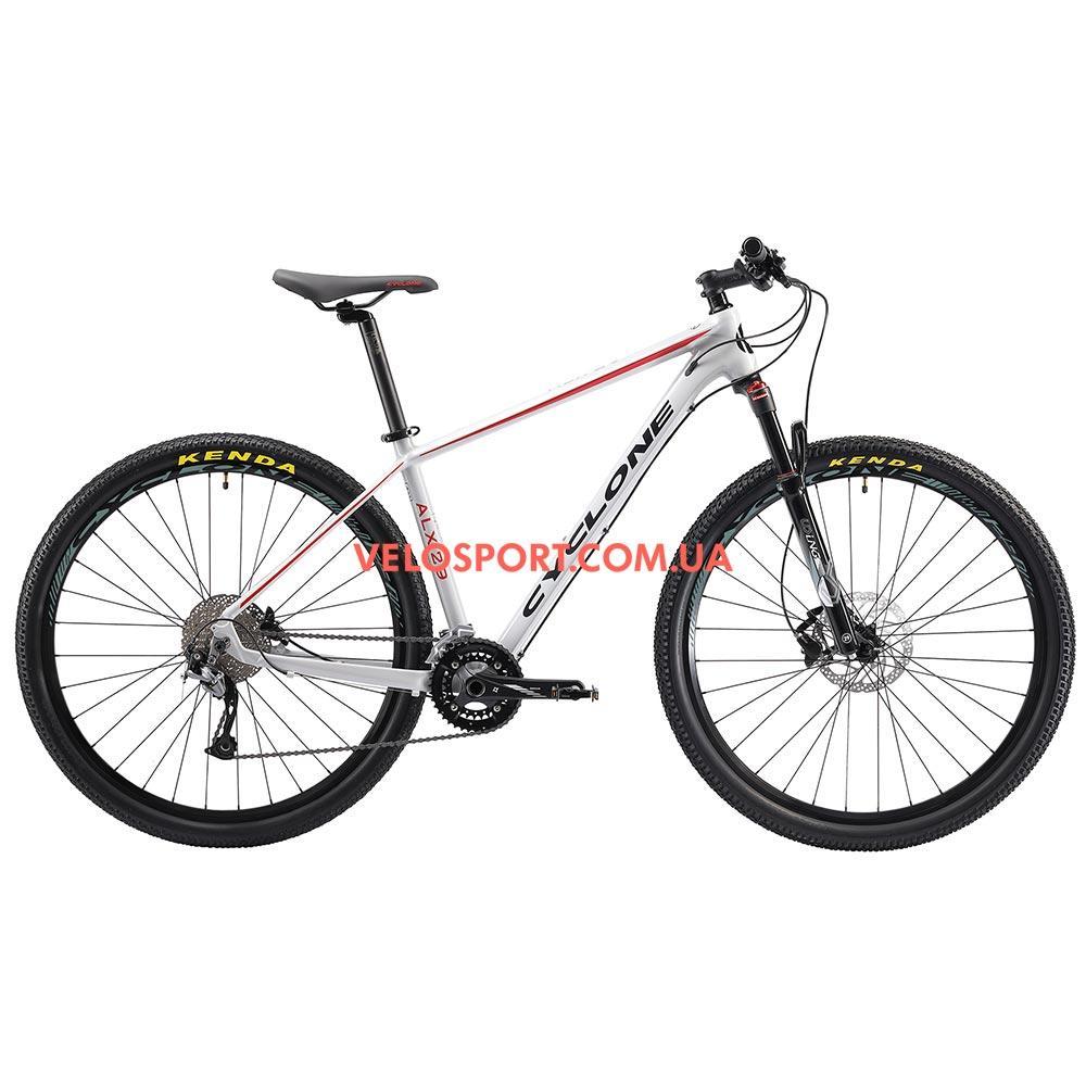 """Горный велосипед Cyclone ALX 29 дюймов 18"""" серый"""