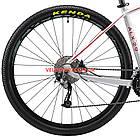 """Горный велосипед Cyclone ALX 29 дюймов 18"""" серый, фото 6"""