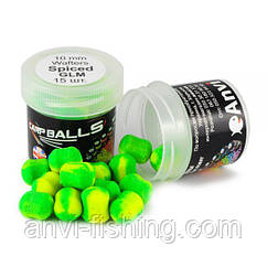 Mini Wafters CARPBALLS 10mm Spiced GLM (Аромат специй и мидии)