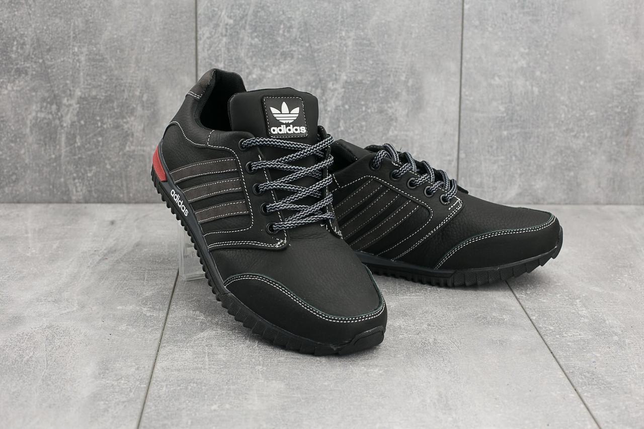 Мужские кроссовки Adidas CrosSAV 27 черно-серые топ реплика