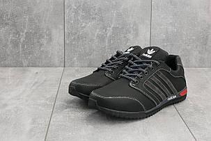 Мужские кроссовки Adidas CrosSAV 27 черно-серые топ реплика, фото 2