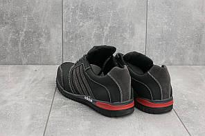 Мужские кроссовки Adidas CrosSAV 27 черно-серые топ реплика, фото 3