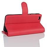 Чехол-книжка Bookmark для Xiaomi Mi5c red, фото 3