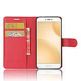 Чехол-книжка Bookmark для Xiaomi Mi5c red, фото 6