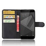 Чохол-книжка Bookmark для Xiaomi Redmi 4X black, фото 5
