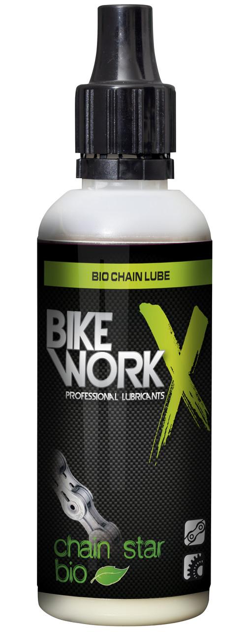 Смазка для цепи BikeWorkX Chain Star BIO, 50 мл