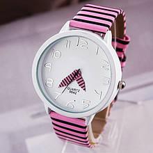 Часы наручные женские Zebra pink