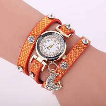 Часы женские Moon orange