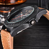 Часы мужские наручные XI New Tiger light brown-black, фото 5