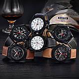 Часы мужские наручные XI New Tiger light brown-black, фото 7