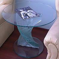 Журнальный (кофейный) стол из стекла