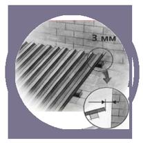 монтаж к примыканию   примыкание листов Салюкс   монтаж прозрачного шифера