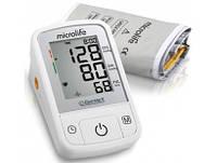 Тонометр автоматический на плечо Microlife BP A2 Basic с адаптером, Швейцария