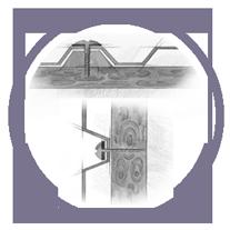 кровля из Salux   монтаж прозрачный трапецевидных листов