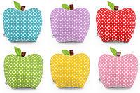 Подушка декоративная Яблоко разной расцветки