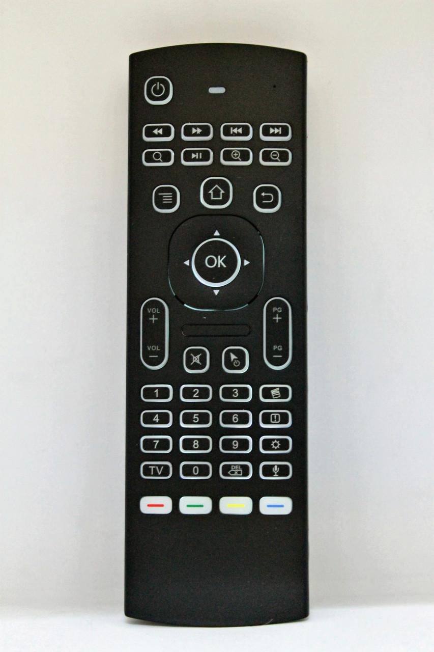 Универсальный обучаемый Гироскопический пульт Young MX3 с клавиатурой и микрофоном