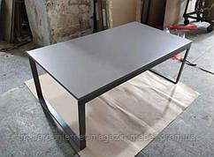 Стол журнальный BRIGHTON R (120*65*45см) MDF графит, Nicolas