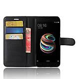 Чехол-книжка Bookmark для Xiaomi Mi A1 (Mi 5x) black, фото 5