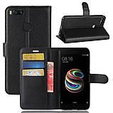 Чехол-книжка Bookmark для Xiaomi Mi A1 (Mi 5x) black, фото 6