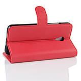 Чехол-книжка Bookmark для Meizu M5s red, фото 3