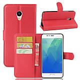 Чехол-книжка Bookmark для Meizu M5s red, фото 5