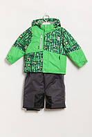 Комплект (Куртка, комбинезон) OLDOS 3 Years  (93-98 cm) (MA-14-OA-1su111-1_Green)