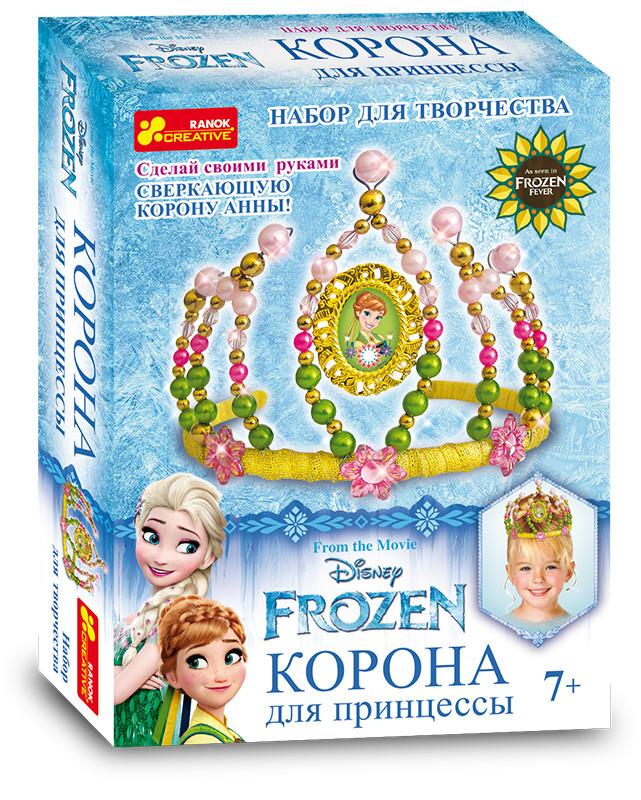 """Набор для творчества """"Корона из бисера. Frozen"""""""