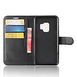 Чехол-книжка Bookmark для Samsung Galaxy S9/G960 black, фото 4