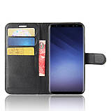 Чехол-книжка Bookmark для Samsung Galaxy S9/G960 black, фото 5