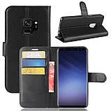 Чехол-книжка Bookmark для Samsung Galaxy S9/G960 black, фото 6