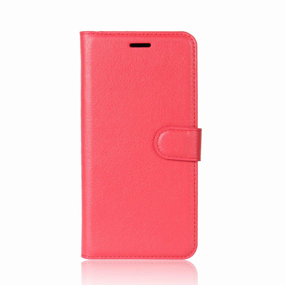 Чехол-книжка Bookmark для Samsung Galaxy A8 2018/A530 red