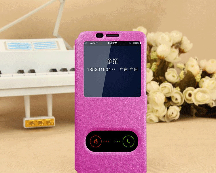 Чехол-книжка Holey для Samsung Galaxy S9/G960 pink