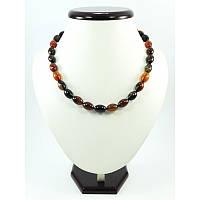 Ожерелье Агат боченок, Изысканное ожерелье из натурального камня, Украшения из натурального камня