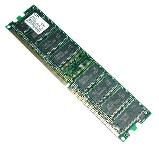 Модуль памяти DDR1 512Mb, 266Mhz/333Mhz/400Mhz, для ПК