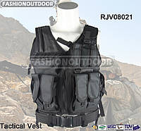 Разгрузка Fashion Outdoor Combat Vest Black