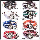 Винтажные женские наручные часы Shambala light green, фото 2