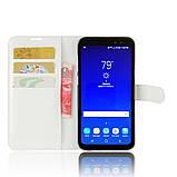 Чехол-книжка Bookmark для Samsung Galaxy S8 Active/G892 white, фото 4