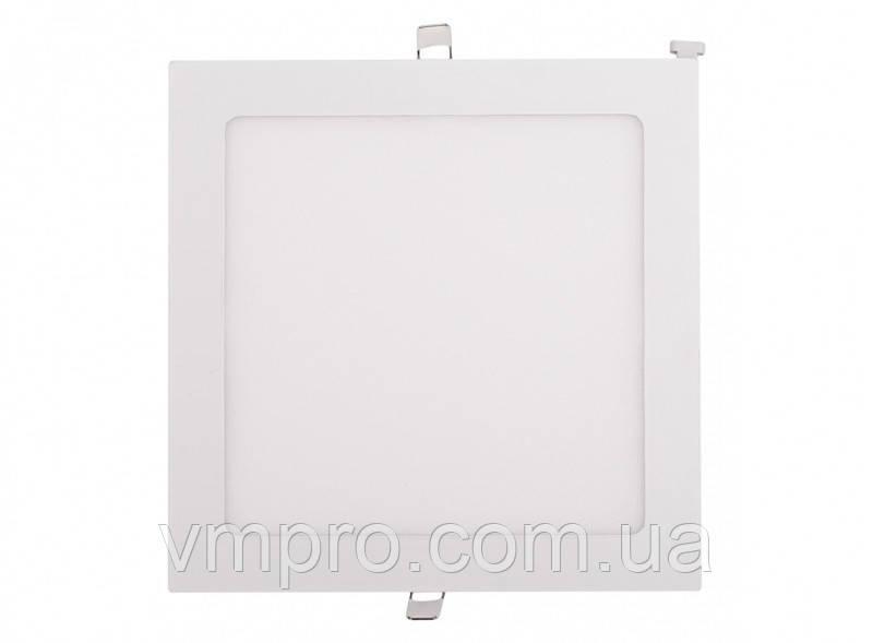 LED панель Luxel квадратная, встраиваемая, 12W 4000K (DLS-12N)