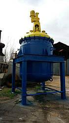 Реактор СЕРН эмалированный  6,3 м.куб. химический