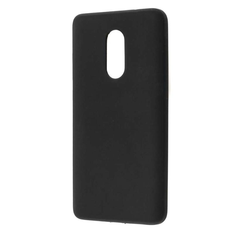 Силиконовый чехол SlimCase для Xiaomi Redmi Note 4X black