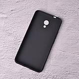 Силиконовый чехол SlimCase для Meizu M5s black, фото 2