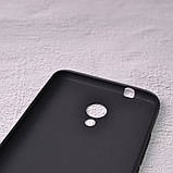 Силиконовый чехол SlimCase для Meizu M5s black, фото 3