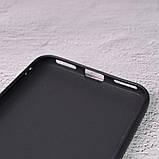 Силиконовый чехол SlimCase для Meizu M5s black, фото 4