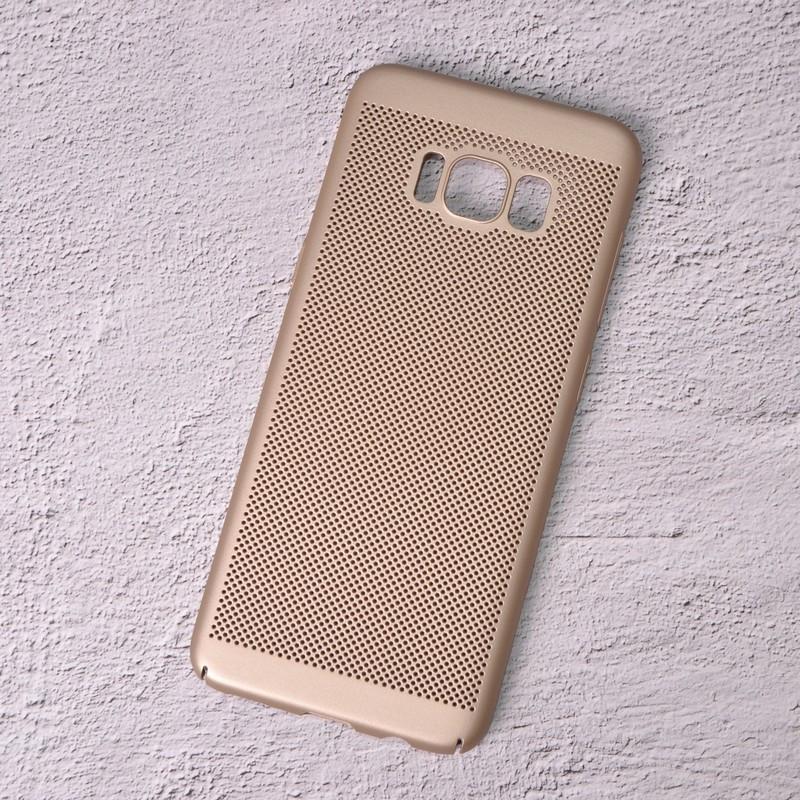 Чехол накладка Loco для Samsung Galaxy S8/G950 gold