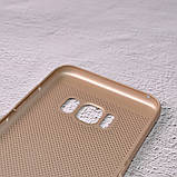 Чехол накладка Loco для Samsung Galaxy S8/G950 gold, фото 3
