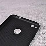 Чехол накладка Loco для Huawei P8 Lite 2017 black, фото 3